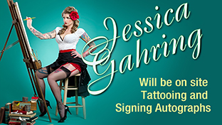 Meet Jessica Lynn Gahring at the 2014 Saratoga Tattoo Expo